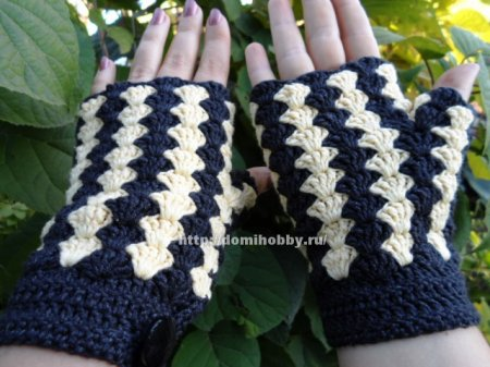 Crocheted Fingerless