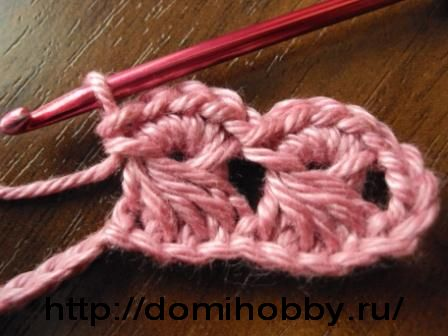 Broomstick Lace Without the Broom crochet free photo tutorial
